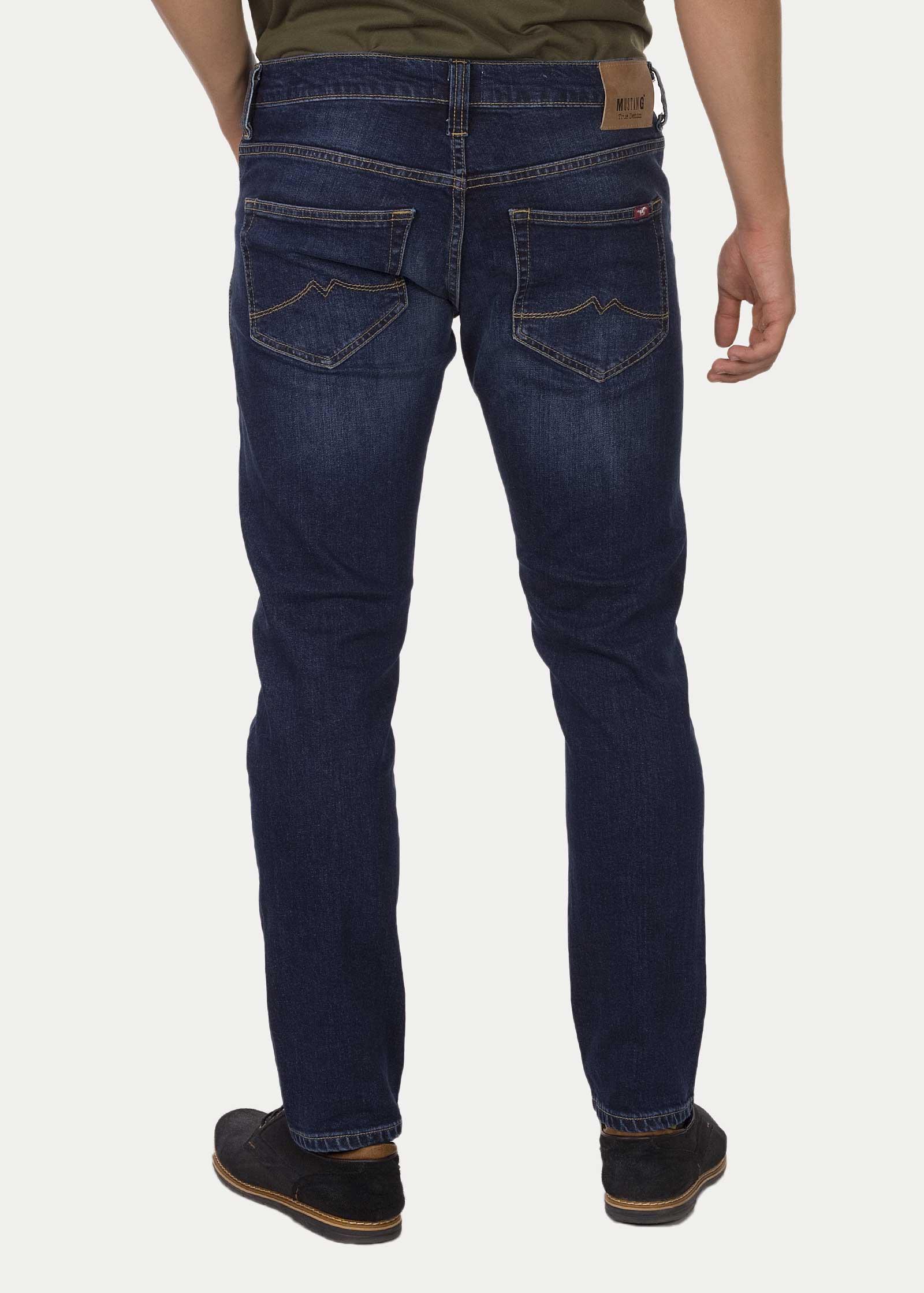 m skie spodnie mustang oregon tapered 882 denim blue 1006593 5000 882. Black Bedroom Furniture Sets. Home Design Ideas