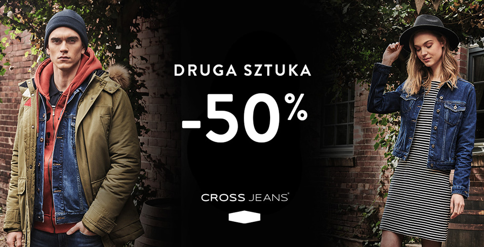 Cross Jeans® 30% na prawie całą ofertę