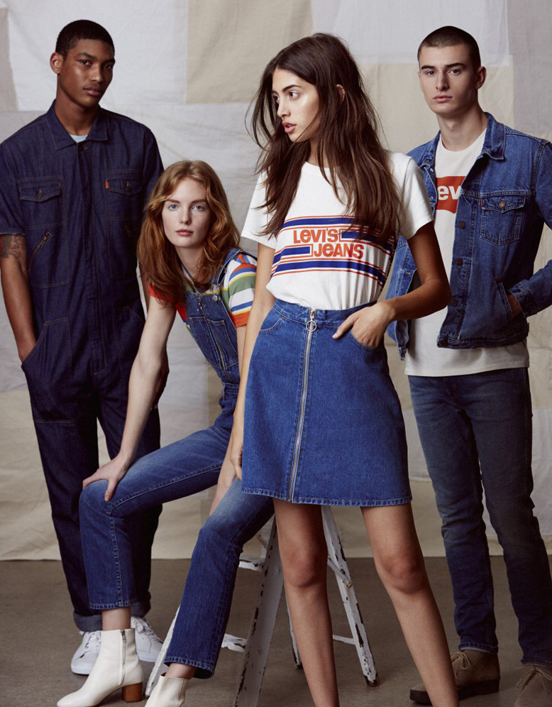 Levi's SS2017 Orange Tab Collection