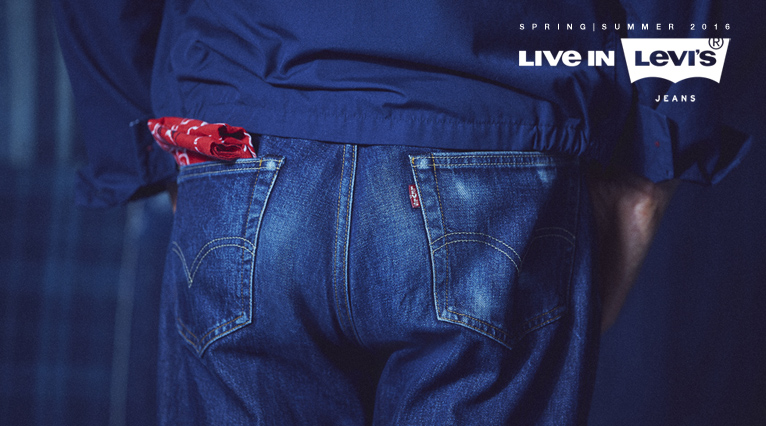 Live in Levis SS16