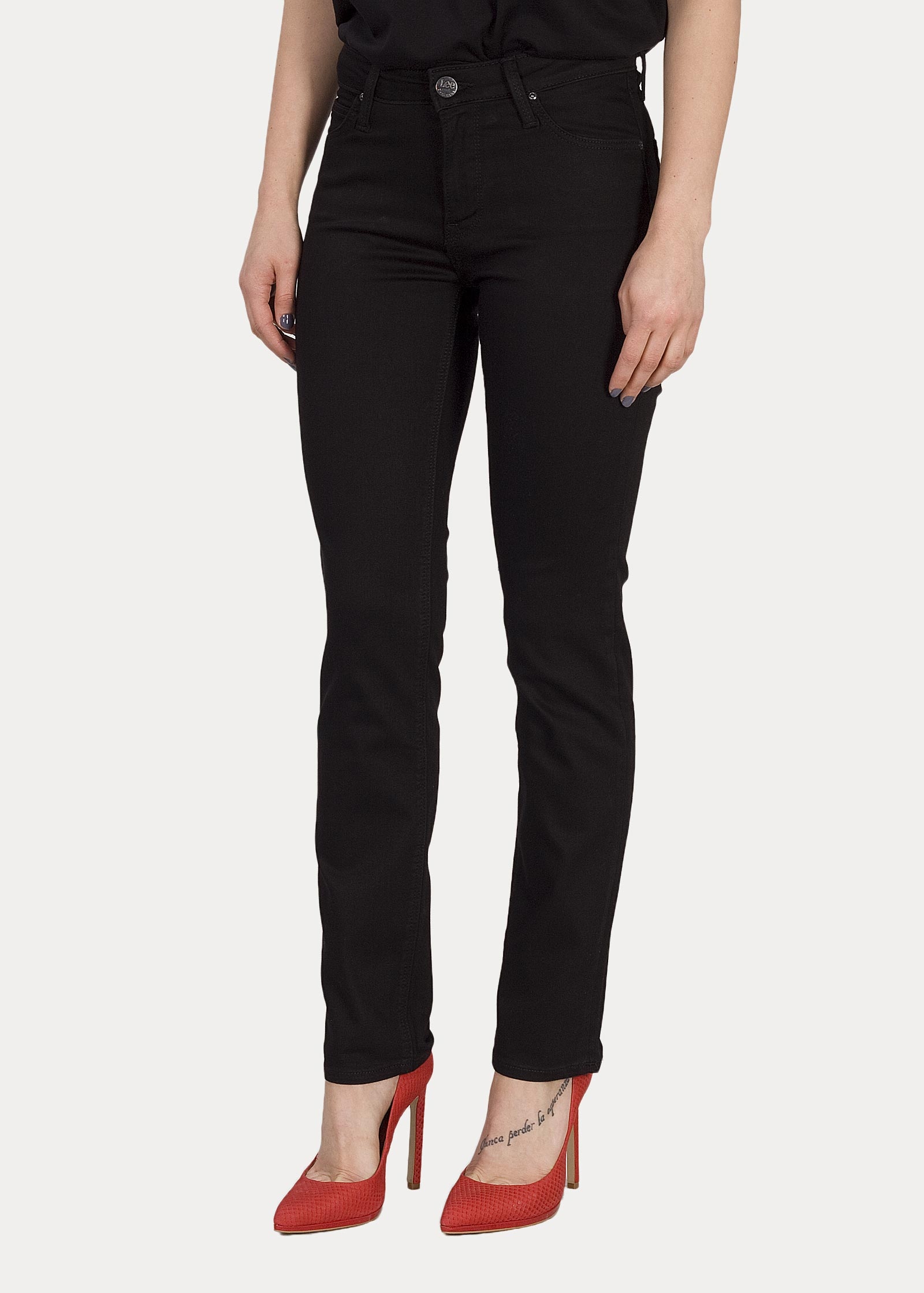 3ab7576024 Woman s Jeans Lee® Elly - Black Rinse (L305FS47) - Jeans24h - Your ...