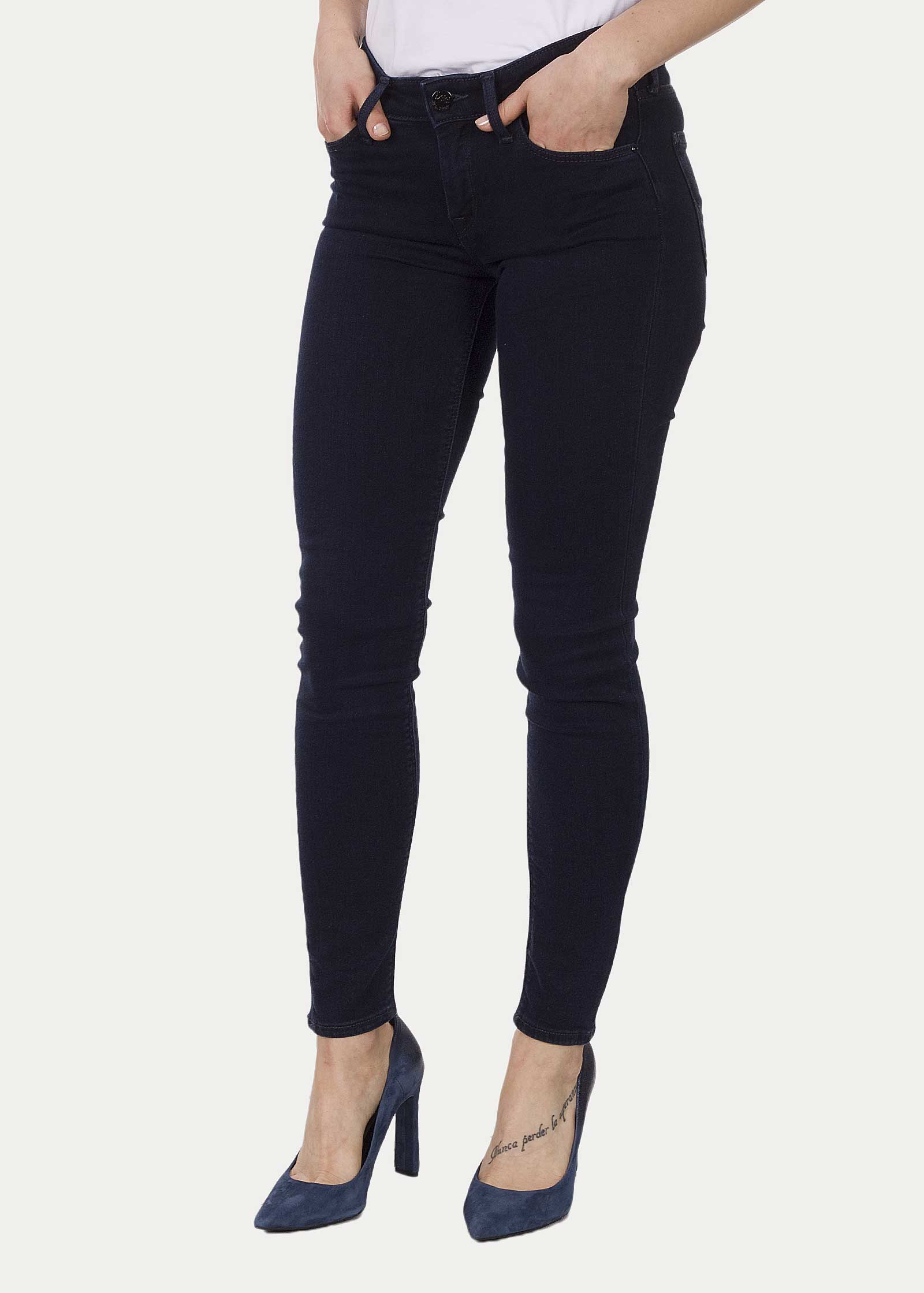 low priced special price for great deals Womans Jeans Lee Scarlett - Midnight