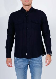 Cross Jeans® 2 Pocket Shirt - Black (35337-001)