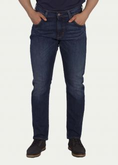 Męskie Spodnie Mustang® Chicago Tapered - Denim Blue (1000354-5000-882)