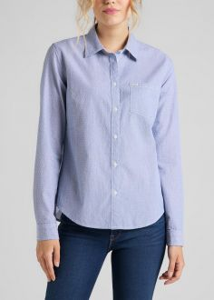 Koszula Damska Lee® Regular Shirt - Washed Blue (L46AGCLR)