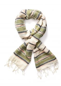 Akcesoria Szaliki Lee® Multi Stripe Scarf - Army Green (LW3825CA)