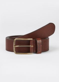 Męski Pasek Wrangler® Carved Belt - Brown (W0G4U1X85)