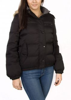 Wrangler® Sue Nylon Jacket - Black (W4027YM01)