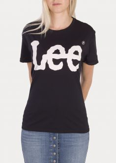 Lee® Logo Tee - Black (L40LEP01)