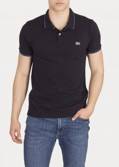 T-Shirt Męski Lee® Pique Polo - Black (L61ARL01)