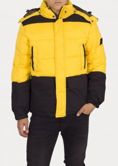 Lee® Mid Puffer Jacket - Lemon Zest (L87YUNMM)