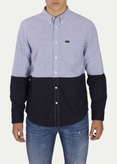 Lee® Button Down Shirt - Dusty Blue (L880ZLKH)