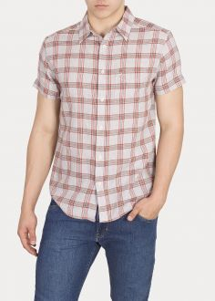 Wrangler® Ss 1pkt Shirt - Glow Orange (W58606E48)
