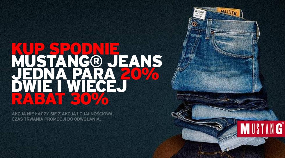 Mustang® Jeans rabat od 20% do 30% na spodnie