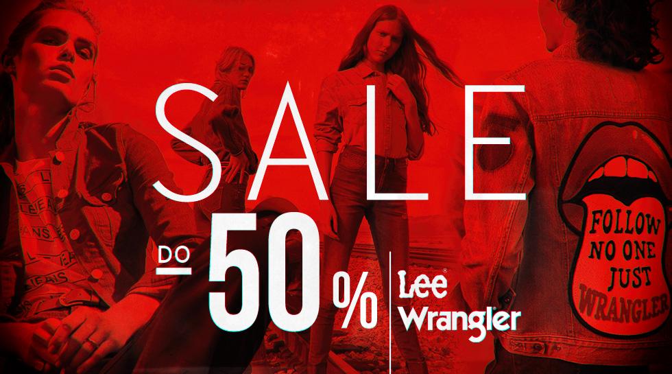 Wrangler & Lee Summer Sale do -50%
