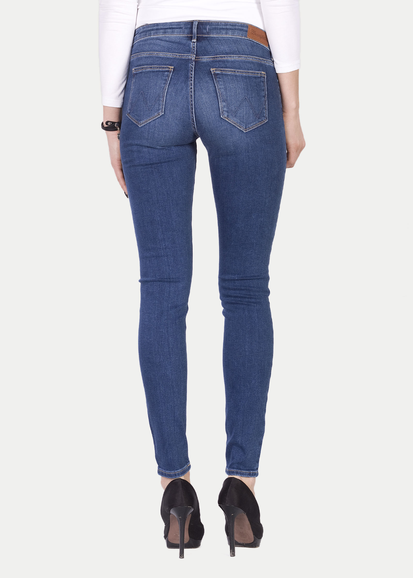 Wrangler® Skinny - Authentic Blue - elements