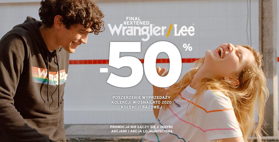 Wrangler® / Lee® Letnia wyprzedaż - następny etap