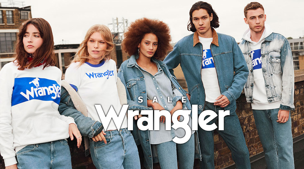 Wrangler / Lee Sale 2018 ceny do -60%