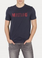 Mustang® Logo Tee - Blue Nights