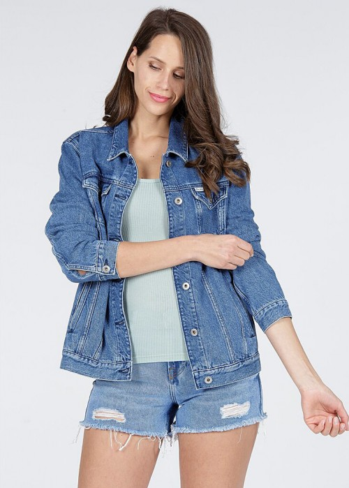 Cross Jeans® Denim Jacket - Blue (017)