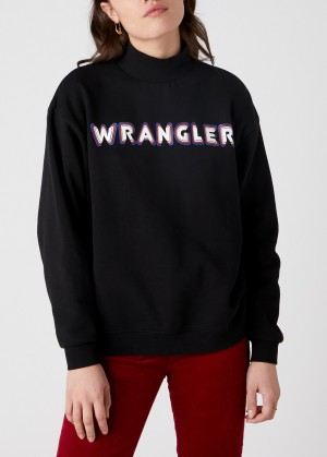 Wrangler® High Neck Logo  - Black