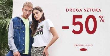 Cross Jeans® Drugi produkt -50%
