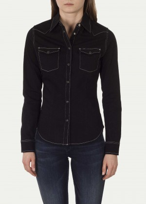 Lee® Slim Western - Black Contrast