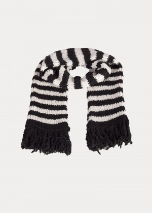 Lee® Stripe Scarf - Black
