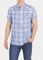 Wrangler® Ss Western Shirt - Turkish Sea