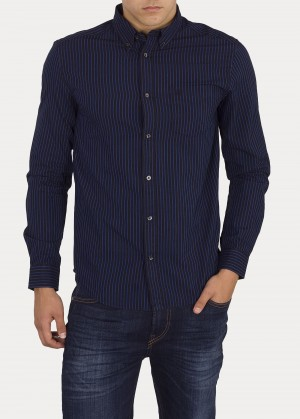 Wrangler® Longsleeve 1 Pocket Shirt - Dress Blue