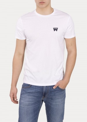 Wrangler® Sign Off Tee - White