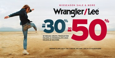 MidSeason Wrangler / Lee od - 30% do -50%