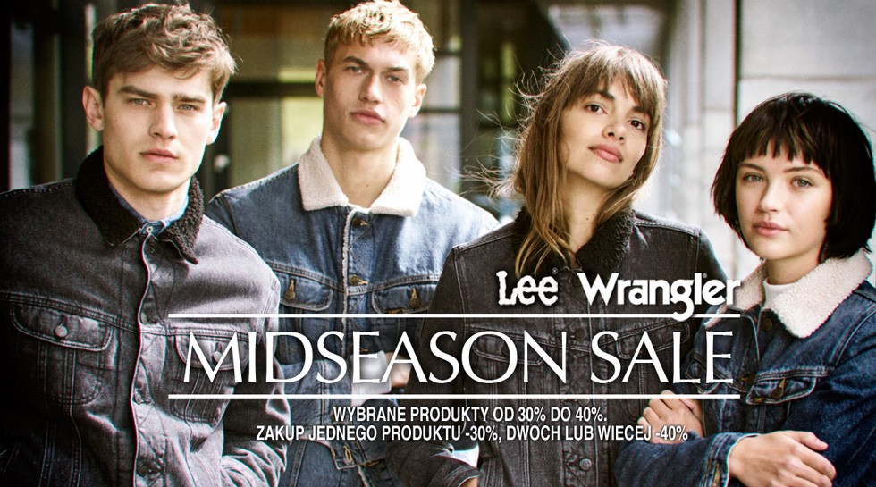 Wrangler® & Lee® Midseason Sale